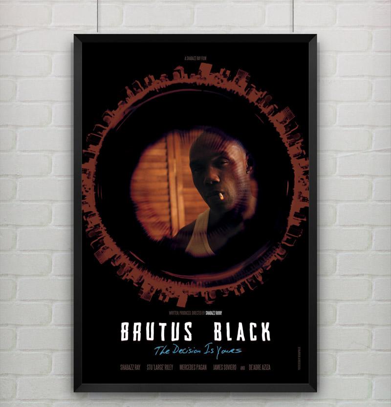 Brutus Black Poster