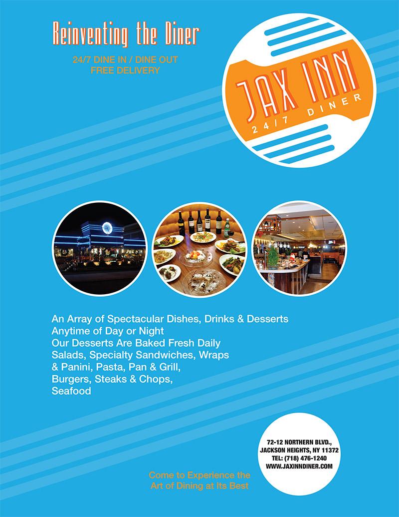 Jax Inn Diner Ad